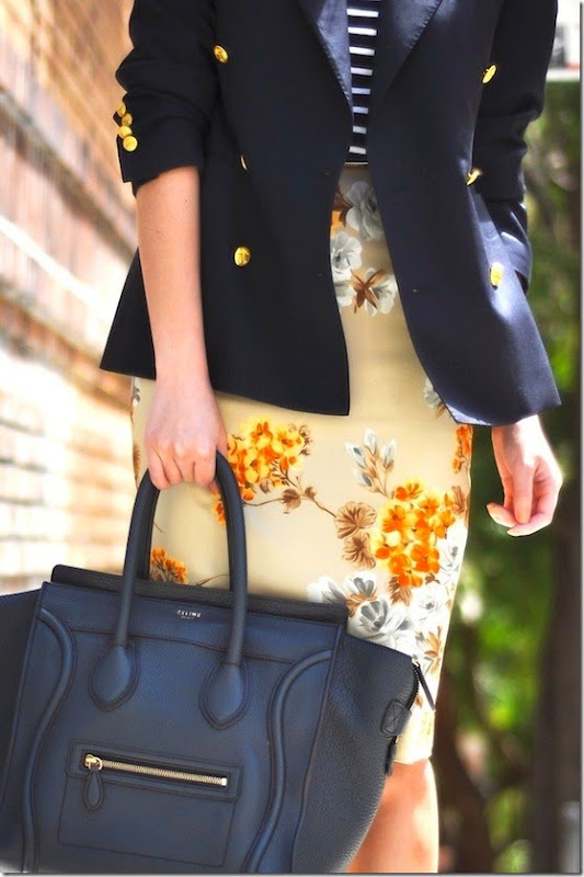 navy   florals
