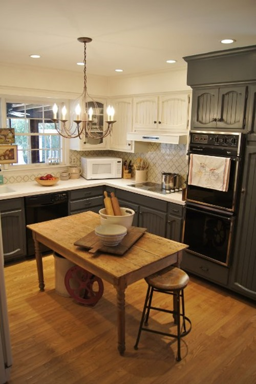 working with mismatched kitchen appliances emily a clark. Black Bedroom Furniture Sets. Home Design Ideas