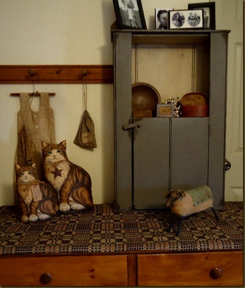 Cats on dresser 1