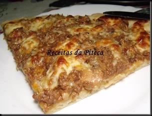 Pizza Bolonhesa-fatia