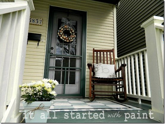 Spring front porch 2