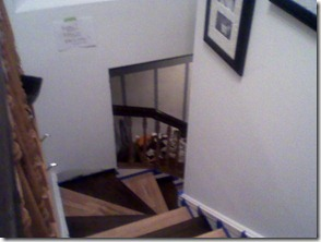Stairs Staining