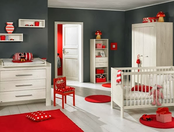 red-and-white-baby-nursery-design-ideas
