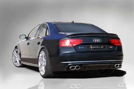 2011 Audi A8 D4 SR 8 by Hofele-Design rear view