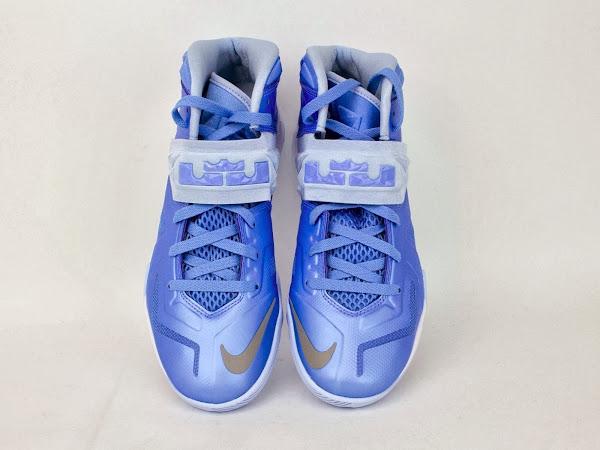 Nike Soldier VII TB University Blue  Metallic Silver