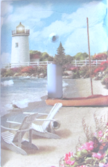 lighthouse scene napkin switch plate2