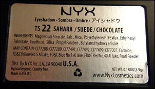 NYX Chocolate