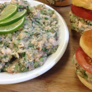 Grilled Salmon Salad with Lime Zest and Capers
