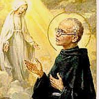 San Maximiliano Kolbe y la Bella María