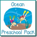 Ocean Preschool Pack Button