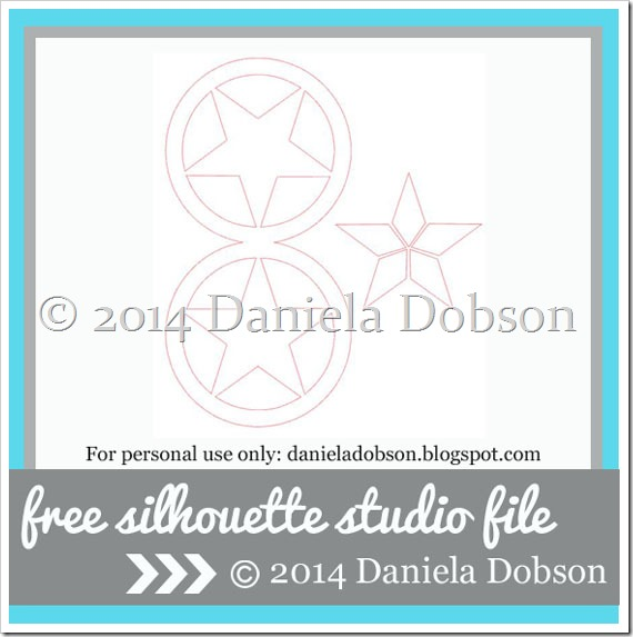 Star shaped card by Daniela Dobson