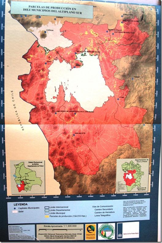 Parcelas de producción de Quinua Real de 10 Municipios del Altiplano Sur-Gutierrez, Z._RM