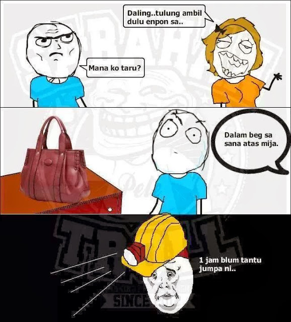 Apa dalam beg tangan ?