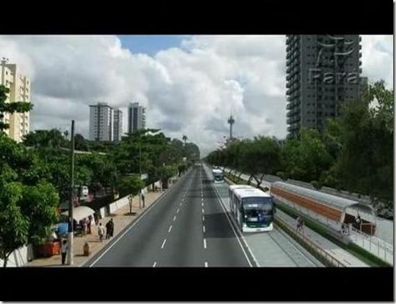 Corredor de ônibus almirante