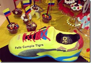 puma le celebró el cumpleaños a Falcao