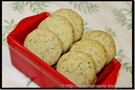 Pistachio and Cardamom Cookies - IMG_3648