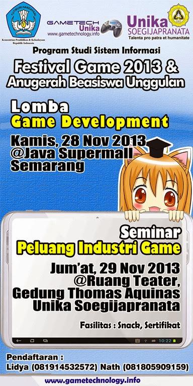 Festival Game 2013 & Anugerah Beasiswa Unggulan