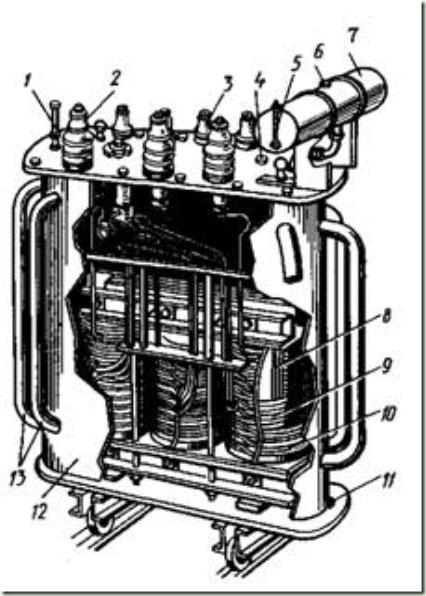 трансформатора средней
