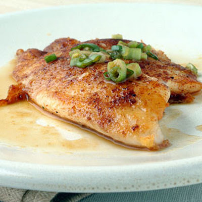 Five-Spice Tilapia with Citrus Ponzu Sauce