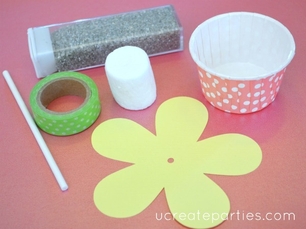 flower pop supplies