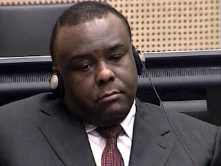 Jean-Pierre Bemba, prsident du MLC,  la Haye. Photo afrik-online.com