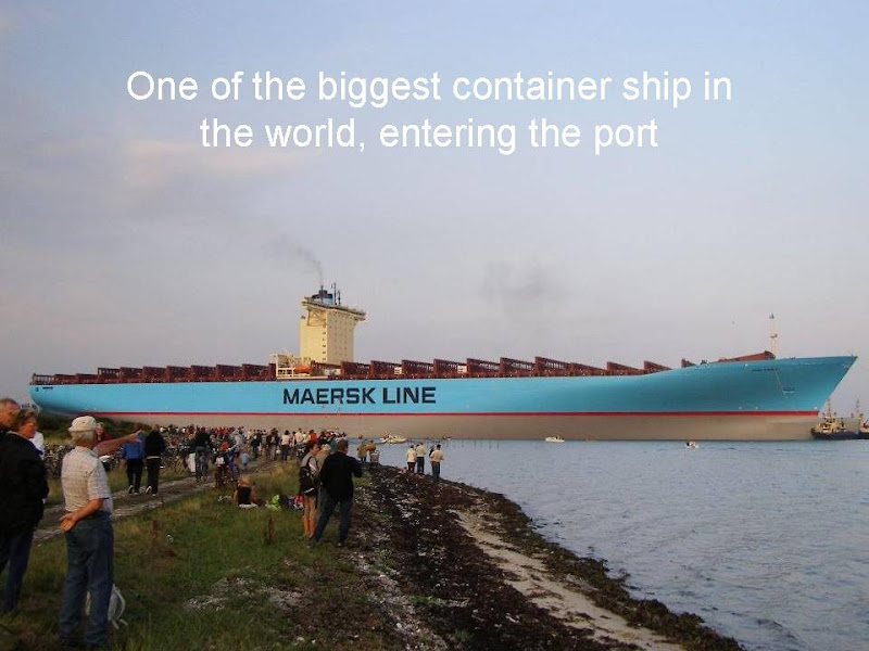Emma Maersk: One of the BIGGEST container ship