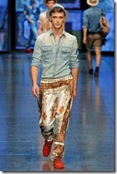 D&G Menswear Spring Summer 2012 Collection Photo 4