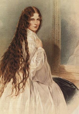 y aqui unos bellos retratos pintados de su majestad imperial...