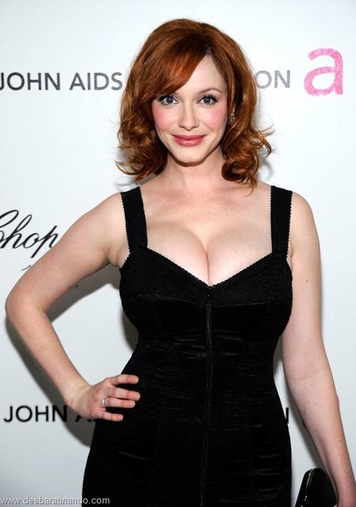 Christina Hendricks linda sensual sexy sedutora decote peito desbaratinando (42)
