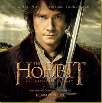 el hobbit banda sonora de la pelicula portada