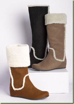 Mia Lynn Shearling Boot