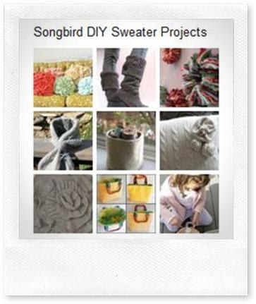 Pinterest DIY Sweater Board
