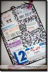 coupon clipboard organizer 2