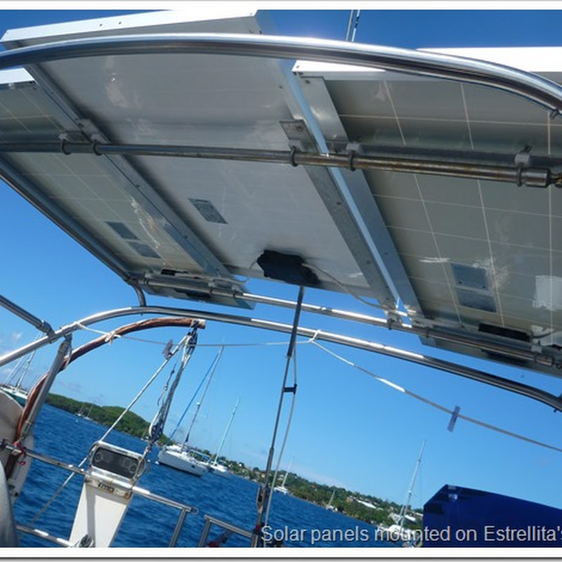 FAQ: Solar panels on bimini