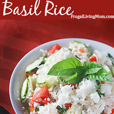 Basil and Feta Rice