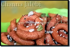 Channa Jalebi Paneer Jalebi