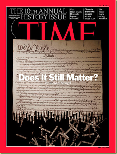 time constitution