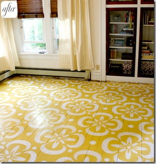 Loribefore[1] · 5758150510_ae0e310985_o[1]. Another Inspirational Painted  Wood Floor ...