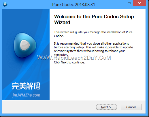 Pure Codec 2013.08.31