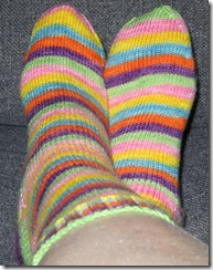 Froot Loop Socks