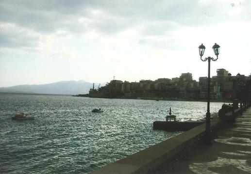 saranda seafront