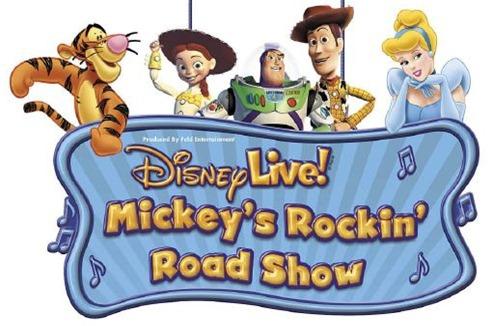 Disney Live Mickey's Rockin Road Show