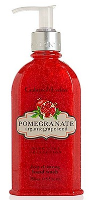 Crabtree & Evelyn Pomgranate, Argan & Grapeseed Deep Cleansing Hand Wash (250ml, $38)