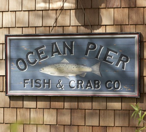 pb ocean pier sign