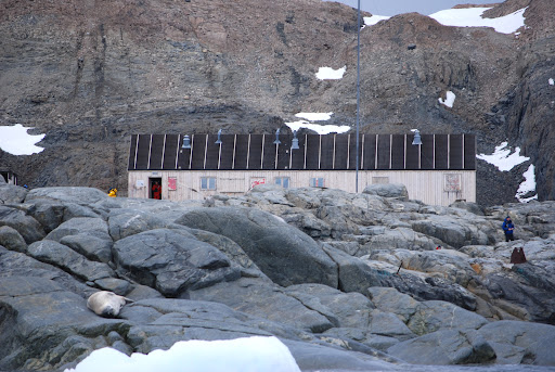 Deserted British Research Station, Horseshoe Island
