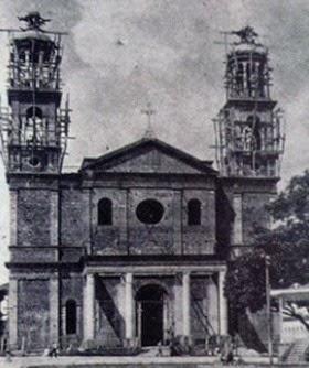 Basílica de Nossa Senhora de Nazaré - costruzione