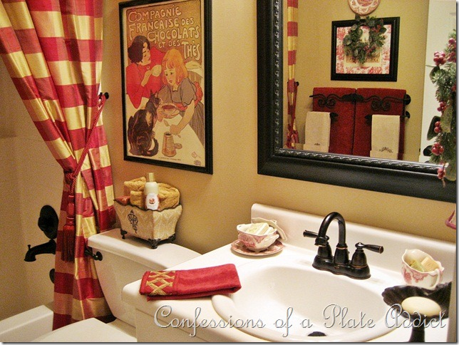 French Country Guest Bathroom Ideas