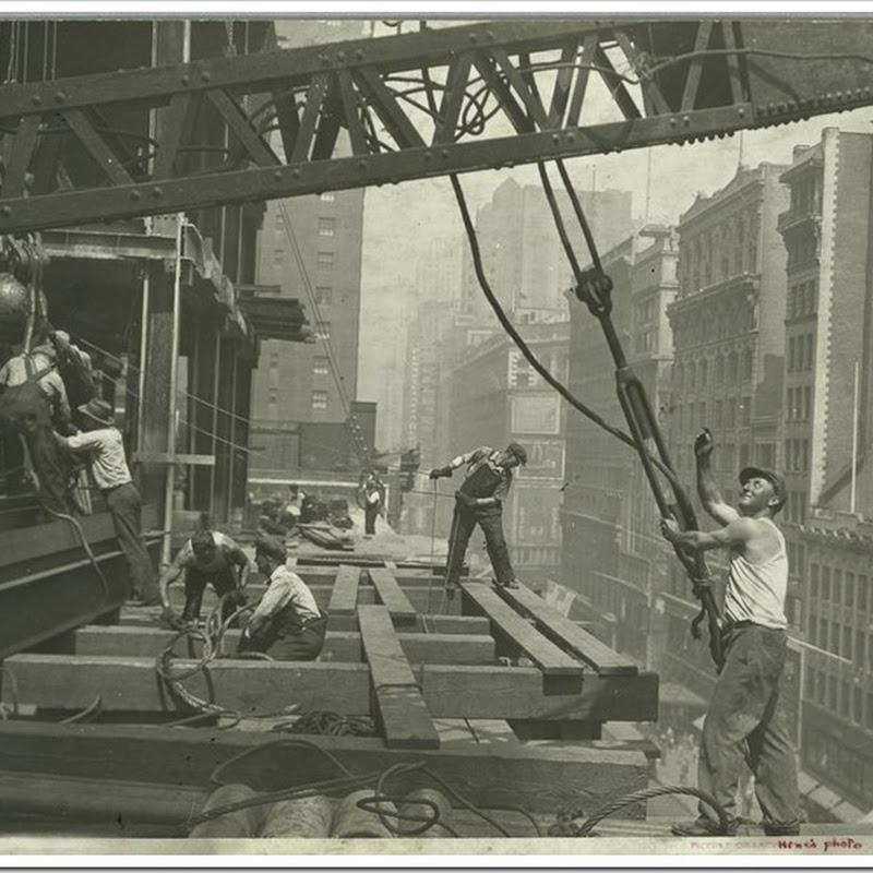 10 fotografias da construção do Empire State Building