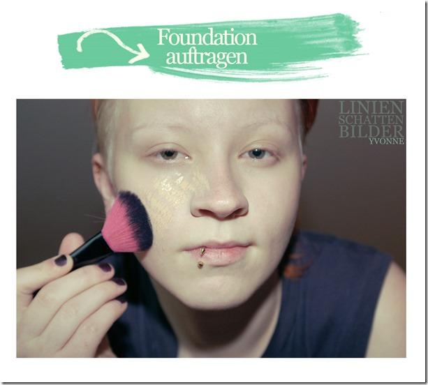 Foundation auftragen