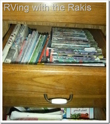 Homeschool organization while living in an RV - RVing with the Raki